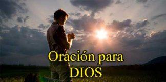 Oración para Dios
