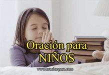 Oración para los niños enfermos
