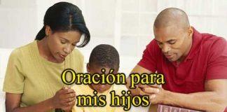 Oración para mis hijos