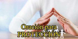 Oración para protección de nuestra familia