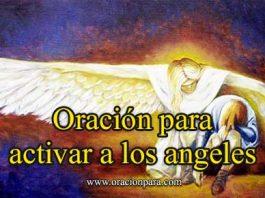 Oración para activar los ángeles