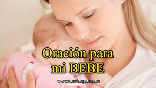 Oración para bebes
