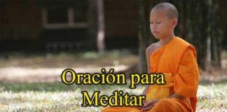 Oración Para Meditar