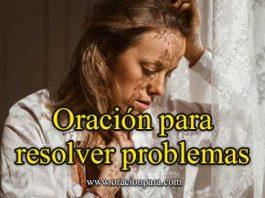 Oración Para Resolver Problemas