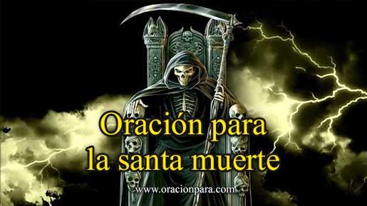 Oración A La Santa Muerte