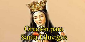 Oración A Santa Eduviges