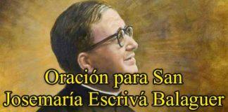 Oración A San Josemaría