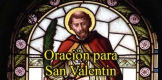 Oración A San Valentín