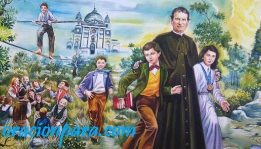oración a San Juan Bosco