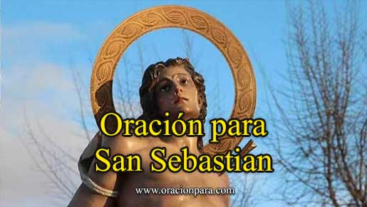 oración a San Sebastián