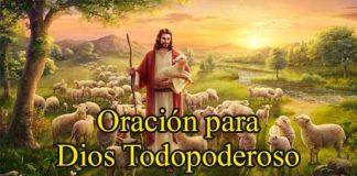Oración A Dios Todopoderoso