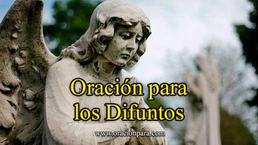 Oración A Los Difuntos