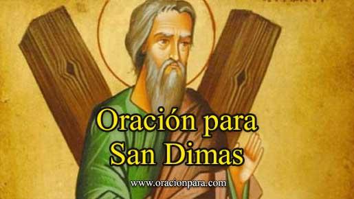 Oración A San Dimas