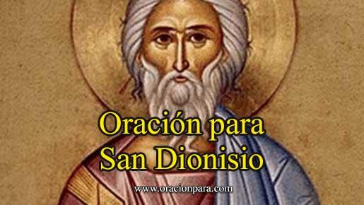 Oración A San Dionisio