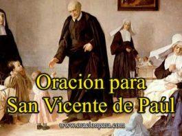 Oración A San Vicente De Paúl