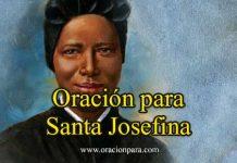 Oración A Santa Josefina