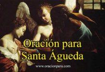 Oración a Santa Águeda