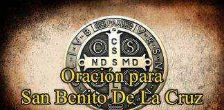 Oración a San Benito De La Cruz