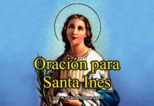 Oración a Santa Inés