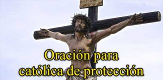 oración catolicas de protección