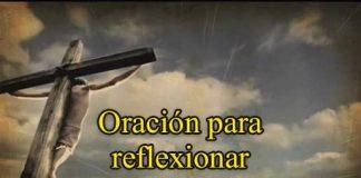 Oración Para Reflexionar