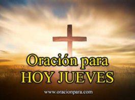 Oración Del Día Jueves