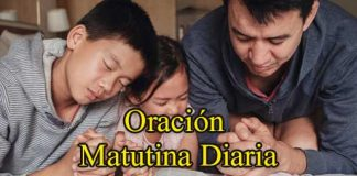 Oración Matutina Diaria
