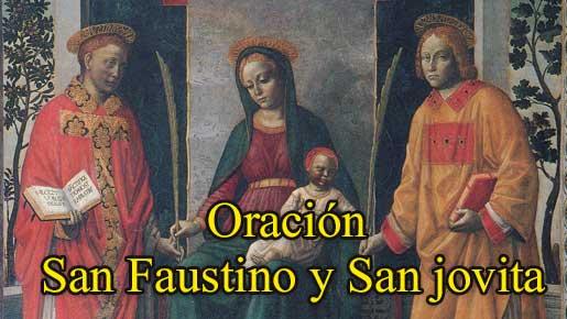 oracion-San-Faustino-y-san-jovita