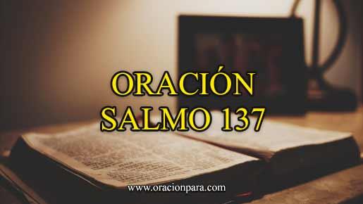 oracion-salmo-137