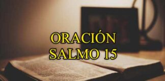oracion-salmo-15