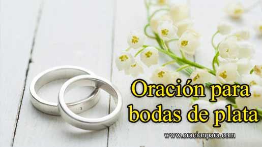 oracion-para-bodas-de-plata