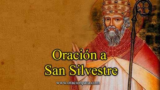 oracion-a-san-silvestre